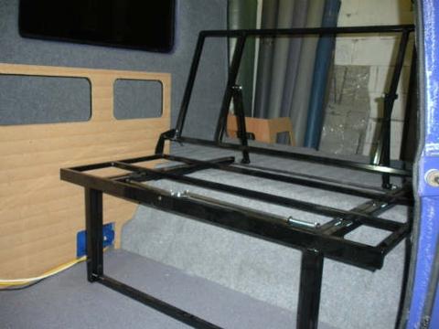 Sofa cama para furgoneta sofa cama para furgoneta with for Cuanto sale un sofa cama